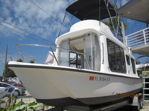 Used Adventure Craft AC 2800 Deck Yacht Trimaran Boat For Sale