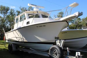 Used Parker 2530 Extended Cabin Pilothouse Boat For Sale