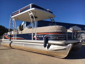 Used Aqua Patio AP240SD Pontoon Boat For Sale