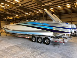 Used Mti 44 Pleasure High Performance Boat For Sale