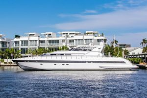 Used Mangusta Express Motor Yacht Express Cruiser Boat For Sale