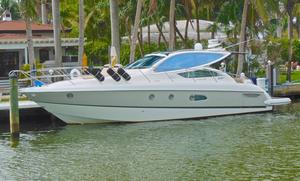 Used Cranchi 43 HT Hard Top Express Cruiser Boat For Sale