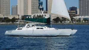 Used Norman Cross Trimaran Sailboat For Sale