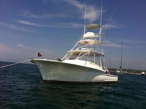 Used Jersey Cape Devil 36 Sports Fishing Boat For Sale