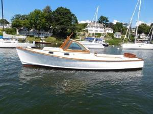 Used Wasque Vineyard Haven Downeast Fishing Boat For Sale