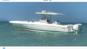 Used Intrepid 350 Open Center Console Fishing Boat For Sale