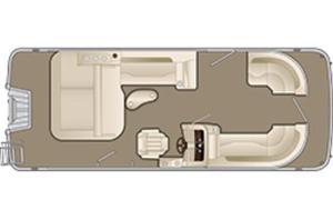 New Bennington 22 SX - Swingback Premium (22SSBXP) Pontoon Boat For Sale