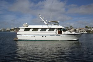 Used Hatteras 4788 Pilot House Motoryacht Motor Yacht For Sale