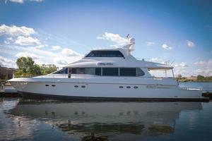 Used Lazzara Cabriolet Cockpit motoryacht Motor Yacht For Sale