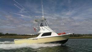 Used Bertram 31 Flybridge Sports Fishing Boat For Sale