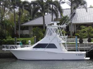 Used Cabo 35 Flybridge Sports Fishing Boat For Sale
