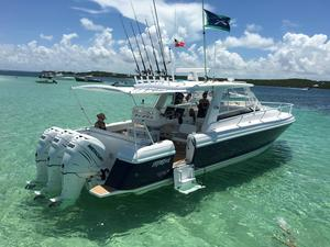 Used Intrepid 390 Sport Yacht Center Console Fishing Boat For Sale