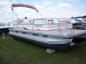 Used Sun Tracker Party Barge 20Party Barge 20 Pontoon Boat For Sale