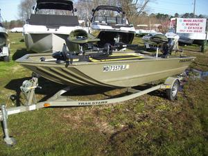 Used Tracker 1754 GRIZZLY1754 GRIZZLY Jon Boat For Sale