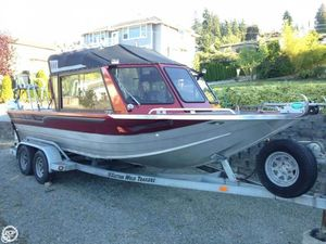 Used Custom Weld 21 Storm Aluminum Fishing Boat For Sale