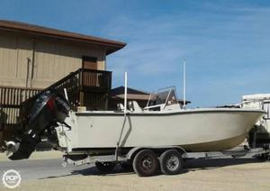 Used Mako 22B Center Console Fishing Boat For Sale