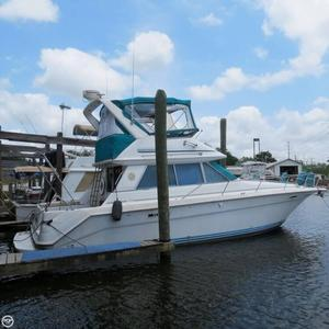 Used Sea Ray 370 Sedan Bridge Sports Fishing Boat For Sale