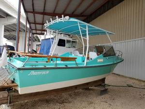 Used Shamrock 20 Walk- Thru Cuddy Cruiser Boat For Sale