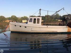Used Eagle 37 Downeast Fishing Boat For Sale