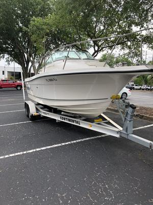 Used Trophy 2102 Walkaround Center Console Fishing Boat For Sale