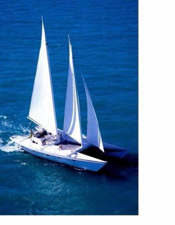 Used Constellation Yachts Gaff Rigged Schooner 64 Catamaran Sailboat For Sale
