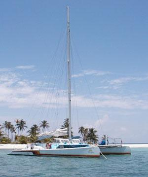 Used Custom Day Sail Charter 50 Multi-Hull Sailboat For Sale