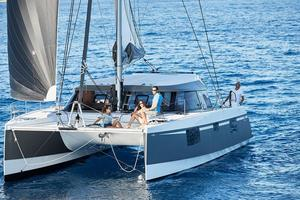 Used Nautitech Open 40 Catamaran Sailboat For Sale