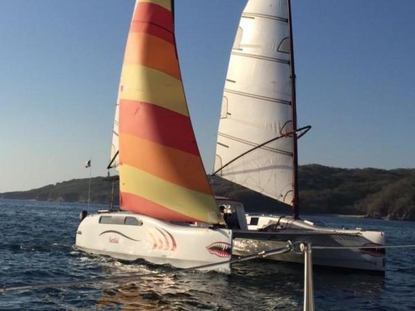 Used Custom 36 Catamaran Sailboat For Sale