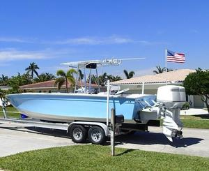 Used Carrera Boats 28 Cuddy Center Console Fishing Boat For Sale