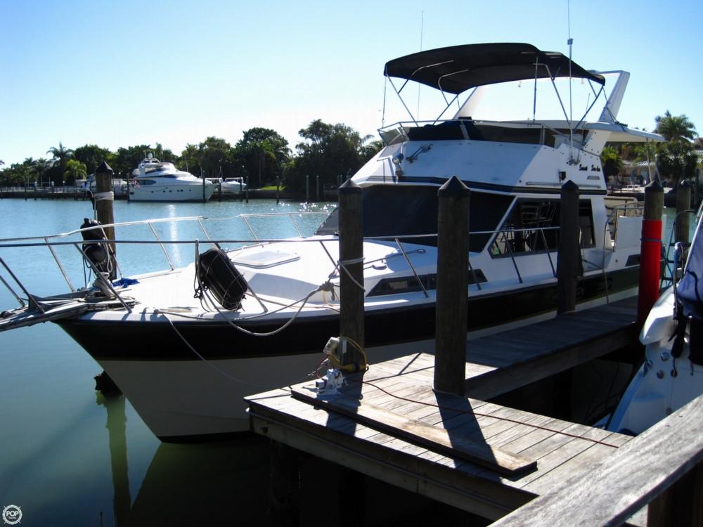 Used President 37 Motoryacht Aft Cabin Boat For Sale