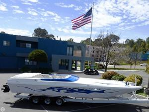 Used Force Boats 32 Power Catamaran Boat For Sale