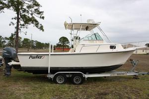 Used Parker 2310 Walkaround2310 Walkaround Saltwater Fishing Boat For Sale