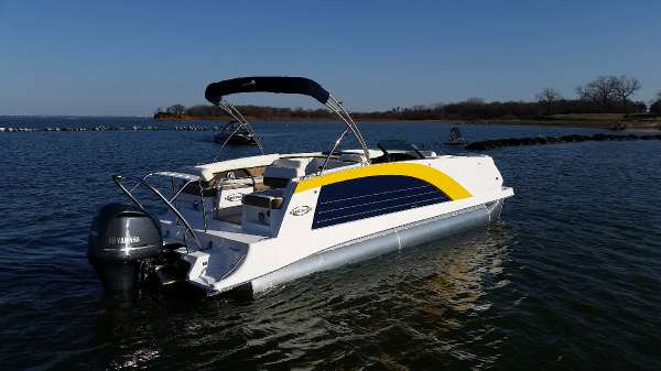 New Cobalt Boats M27 Pontoon Boat For Sale