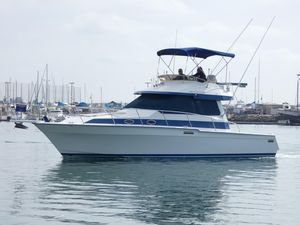 Used Mediterranean 38 Convertible Fishing Boat For Sale