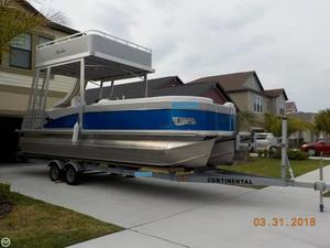 Used Avalon Funship CA 2585 CR Saltwater Series Pontoon Boat For Sale