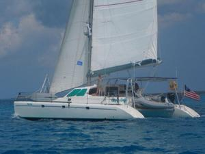 Used Voyage Yachts 430 Owner's Version Catamaran Sailboat For Sale