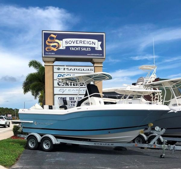 New Striper 230 Dual Console Cruiser Boat For Sale