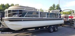 New Regency 220 LE3220 LE3 Pontoon Boat For Sale