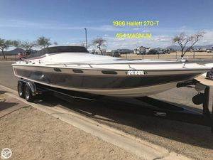 Used Hallett 270-T (7.9EXP) High Performance Boat For Sale