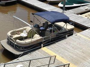Used Misty Harbor 2385 SG Pontoon Boat For Sale