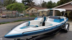 Used Cole Boats 22.4 SKIER High Performance Boat For Sale