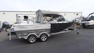 Used North River TRAPPERTRAPPER Aluminum Fishing Boat For Sale
