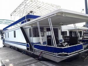 Used Lakeview 15 x 55 House Boat For Sale