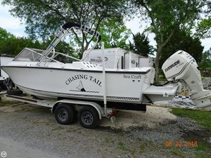 Used Seacraft 23 Specter Walkaround Fishing Boat For Sale