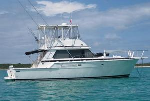 Used Bertram 42 Convertible Sports Fishing Boat For Sale