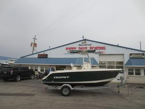 Used Trophy 1903 CC1903 CC Center Console Fishing Boat For Sale