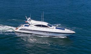 Used Mangusta 72' Series Motor Yacht For Sale
