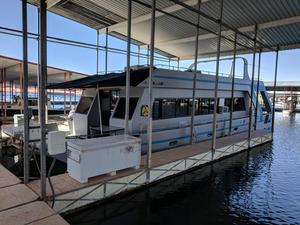 Used Catamaran Custom Fiberglass houseboatCustom Fiberglass houseboat House Boat For Sale