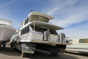 Used Boatel Steel Pontoon HouseboatSteel Pontoon Houseboat House Boat For Sale
