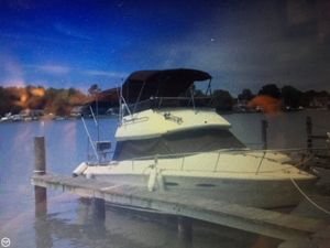 Used Sea Ray SRV 255 Sedan Bridge Sports Fishing Boat For Sale